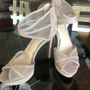 Jessica Simpson heels, platform